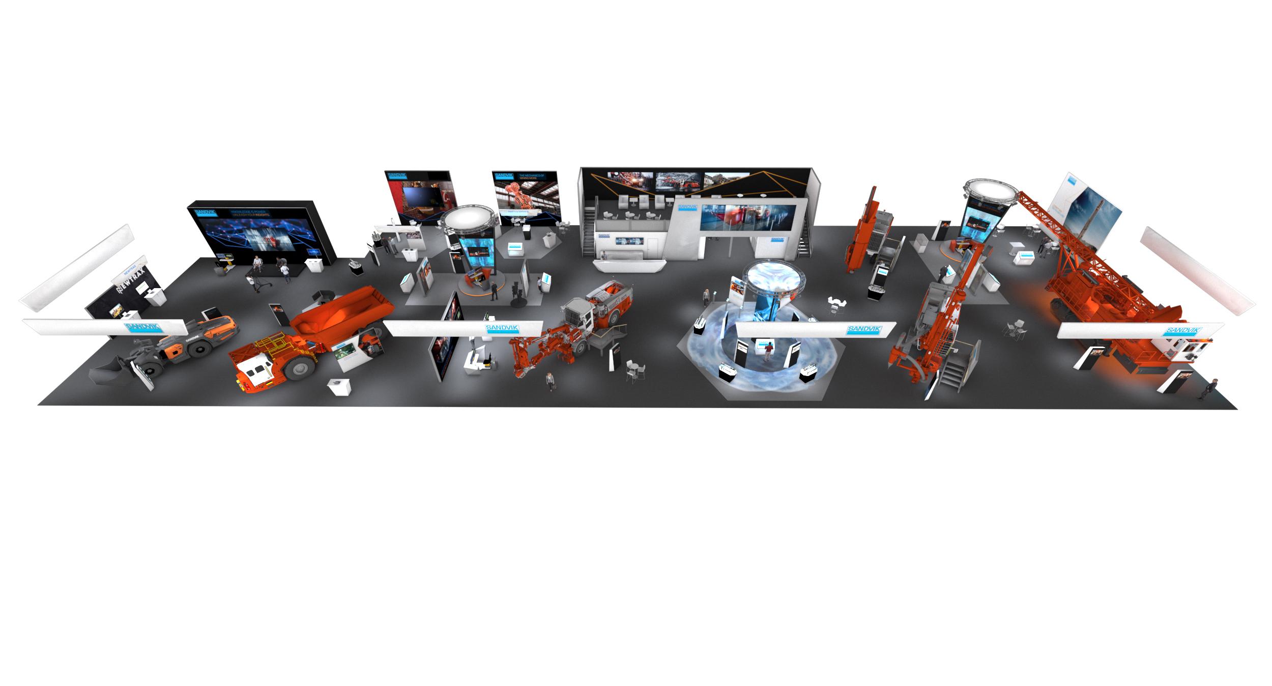 Sandvik exhibirá electrificación, automatización y más en MINExpo INTERNATIONAL® 2021